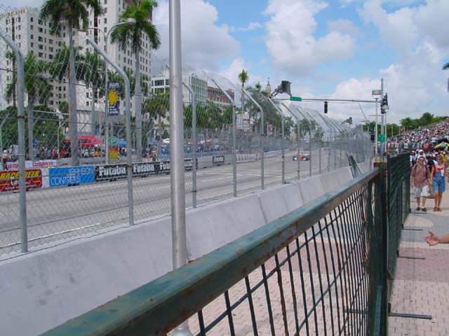 CART race in Miami