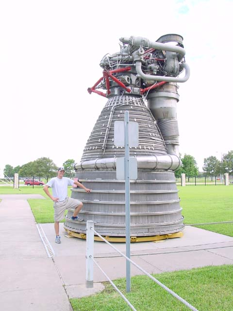 Rocket park in Houston
