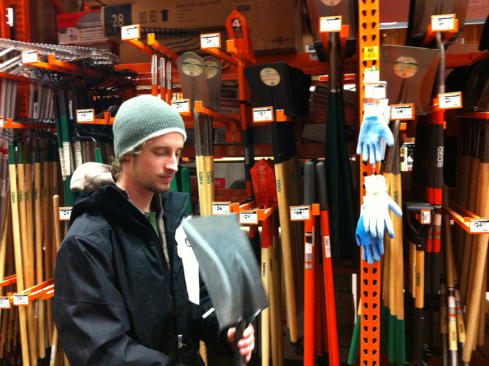 The art of buying a shovel