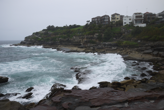 Between Bondi and Bronte Beach