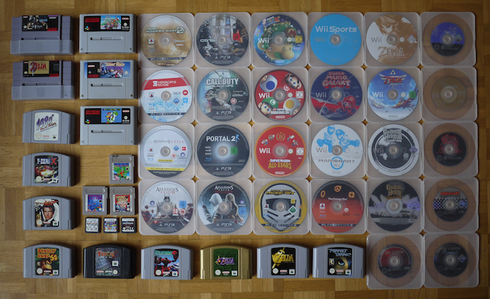 January 2013. A couple of 3DS and PS3 games have been added since.