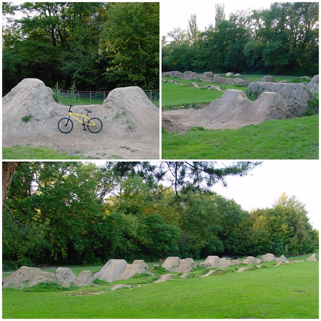 10 years ago, I found out there were trails in Genève