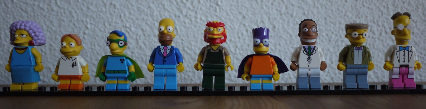 my Simpsons minifigs