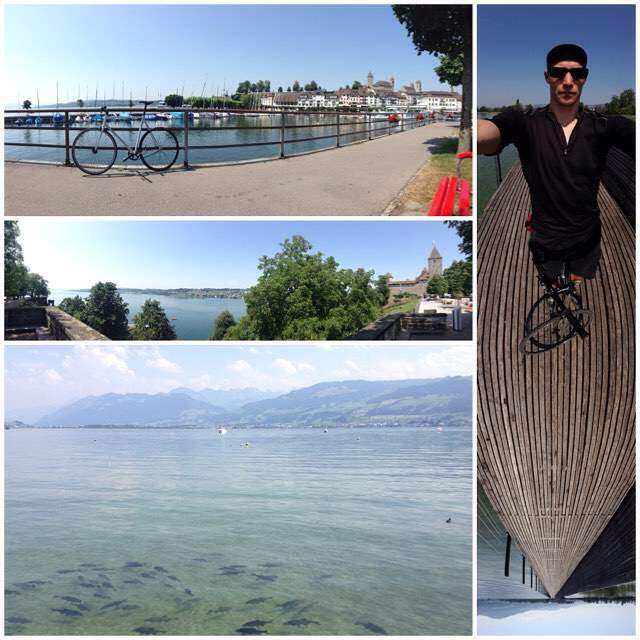 🚲 trip to Rapperswil