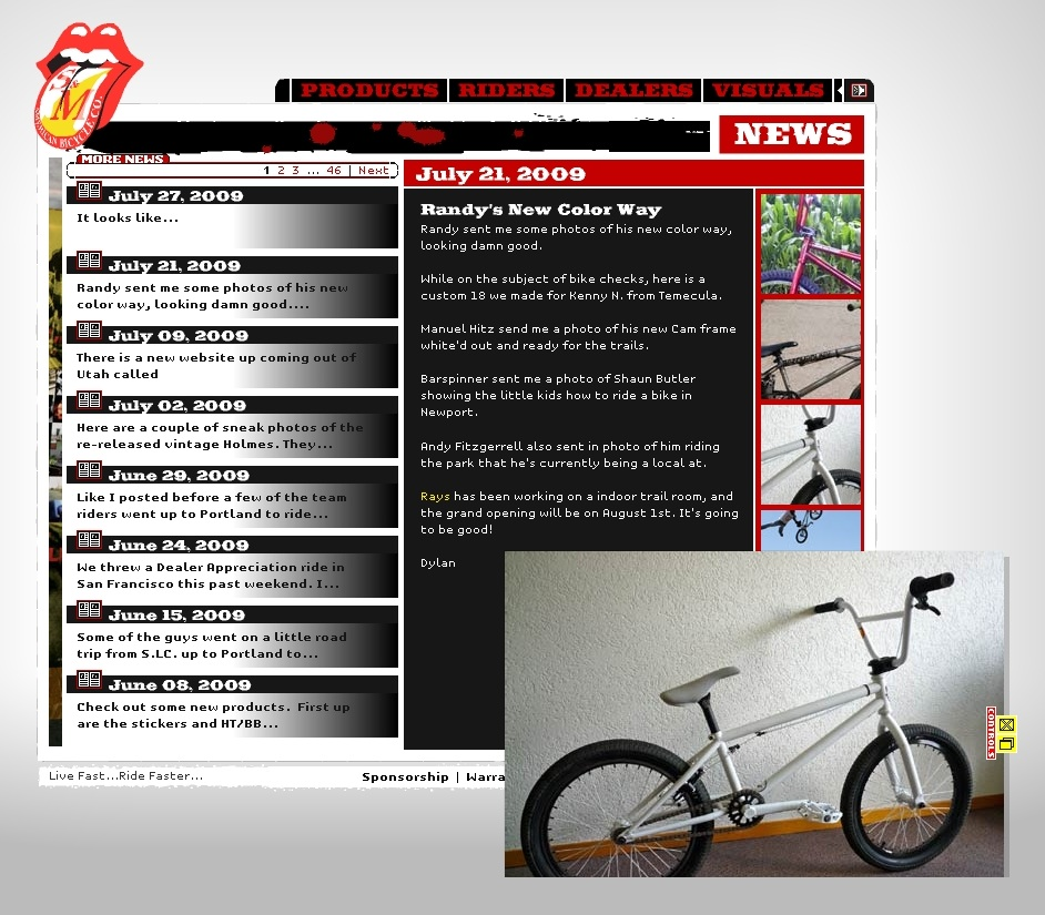 featured on www.sandmbikes.com
